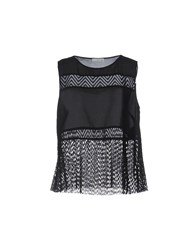 Supertrash Topwear Tops Black