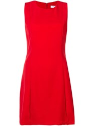 Calvin Klein Jeans Relaxed Mini Dress Red