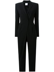 Scanlan Theodore Tailored One Button Jumpsuit Black
