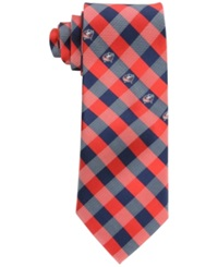 Eagles Wings Columbus Blue Jackets Checked Tie