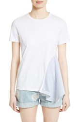 Stella Mccartney Women's Asymmetrical Cotton Tee