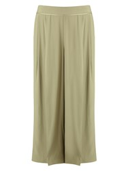 Jacques Vert Cropped Trouser Green