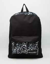 Religion Animal Backpack Black