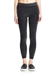Phat Buddha Jane Glitter Leggings Grey Navy Black