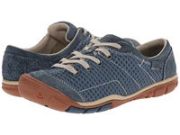 Keen Mercer Lace Ii Cnx Indian Teal Women's Lace Up Casual Shoes Green