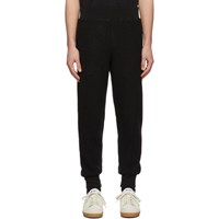 Ami Alexandre Mattiussi Black Boiled Wool Lounge Pants