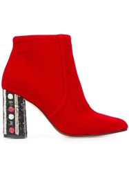 Bams 'Eli' Boots Red