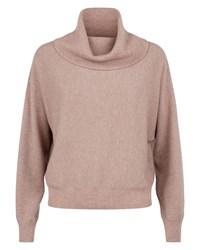 Jaeger Cashmere Slouchy Sweater Pink