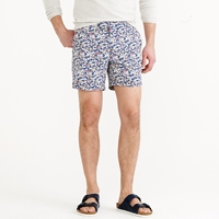 J.Crew Pre Order 6.5' Tab Swim Short In Mini Floral