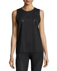 Varley Rudy Technical Vest Muscle Tank Black