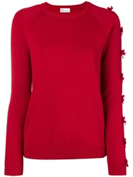 Red Valentino Perfectly Fitted Sweater Red
