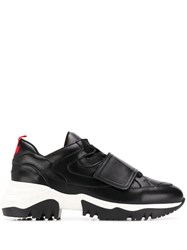 A.F.Vandevorst Touch Strap Sneakers Black
