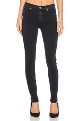 Hudson Jeans Barbara High Waist Super Skinny Black