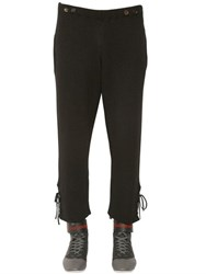 J.W.Anderson Alpaca And Wool Blend Rib Knit Pants