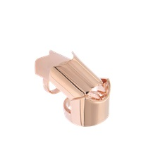 Eddie Borgo Rose Gold Hinged Ring