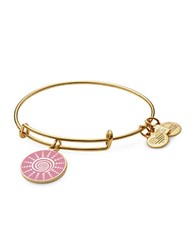 Alex And Ani Spiral Sun Charm Bangle Gold