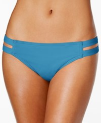 Vince Camuto Cutout Hipster Bikini Bottoms Women's Swimsuit Misty Blue