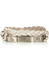 Donna Karan New York Braided Leather Belt