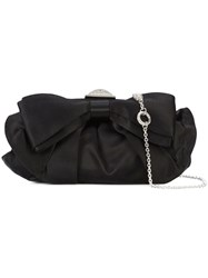 Judith Leiber Couture Madison Bag Crystal Satin Black