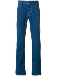 Canali Straight Jeans Blue