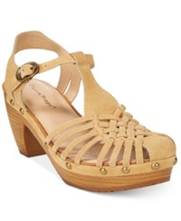 Bare Traps Sanata T Strap Sandals Women's Shoes Honey Yellow
