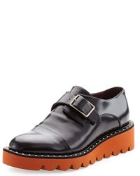 Stella Mccartney Two Tone Studded Monk Strap Loafer