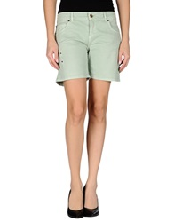 Galliano Denim Shorts Green