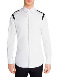 Dsquared Regular Fit Thermal Tape Shirt White