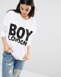 Boy London Sweatshirt White