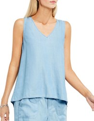 Vince Camuto Vintage Textured Tank Top