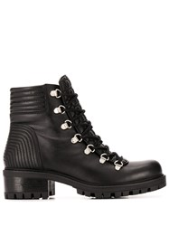Albano Lace Up Quilted Effect Boots 60