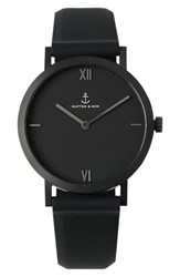 Kapten And Son Pure Nox Silicone Strap Watch 38Mm
