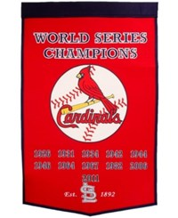 Winning Streak St. Louis Cardinals Dynasty Banner Team Color