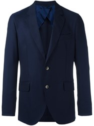 Hackett Two Button Blazer Blue
