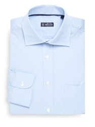 Breuer Cotton Dress Shirt Blue