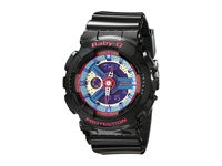 G Shock Ba112 Black W Multicolor Dial Watches