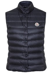 Moncler Liana Navy Quilted Shell Gilet