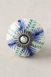 Anthropologie Gardening Indoors Knob Blue