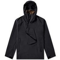 C.P. Company Soft Shell Pullover Goggle Anorak Blue