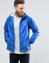 Penfield Travel Shell Hood Jacket Double Water Resistant Blue