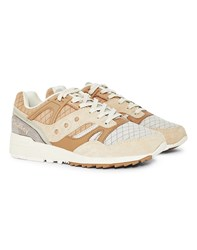Saucony Grid Sd Quilted Trainers Tan
