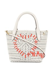 Anya Hindmarch The Neeson Tote White