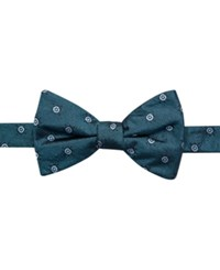 Ryan Seacrest Distinction Hawthorn Dot Pre Tied Bow Tie Only At Macy's Aqua
