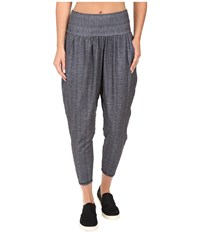 Prana Ryley Crop Charcoal Ziggie Women's Capri Gray