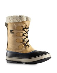 Sorel 1964 Pac Sherpa Snow Cuff Winter Boots Curry