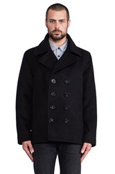 Spiewak Dugan Pea Coat Black