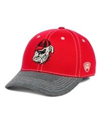 Top Of The World Georgia Bulldogs Ncaa D'up Stretch Cap