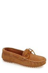 Men's Minnetonka Suede Driving Shoe