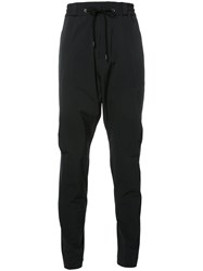 Devoa Drawstring Trousers Black