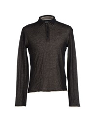 Kangra Cashmere Knitwear Jumpers Men Black